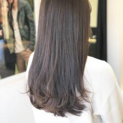 ロング 謝恩会 デート ナチュラル ヘアスタイルや髪型の写真・画像