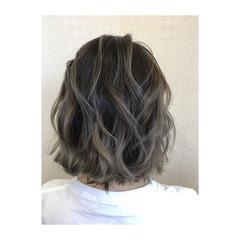 外国人風カラー デート モード バレイヤージュ ヘアスタイルや髪型の写真・画像