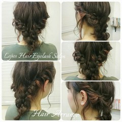 簡単ヘアアレンジ ハイライト ショート インナーカラー ヘアスタイルや髪型の写真・画像