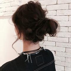 暗髪 大人かわいい 大人女子 ロング ヘアスタイルや髪型の写真・画像