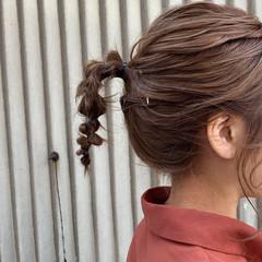 ラーメンマンヘア 簡単ヘアアレンジ ボブアレンジ ヘアアレンジ ヘアスタイルや髪型の写真・画像