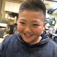 坊主 メンズ ストリート 子供 ヘアスタイルや髪型の写真・画像