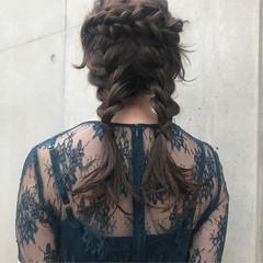 セミロング 結婚式ヘアアレンジ 結婚式 結婚式髪型 ヘアスタイルや髪型の写真・画像