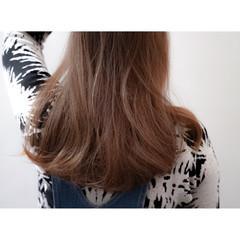 ブラウン アッシュ ロング グラデーションカラー ヘアスタイルや髪型の写真・画像