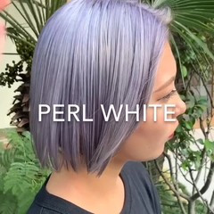 ショート 韓国ヘア 透明感カラー ハイトーンカラー ヘアスタイルや髪型の写真・画像