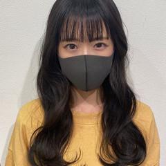 オルチャン 透明感 ロング 韓国ヘア ヘアスタイルや髪型の写真・画像