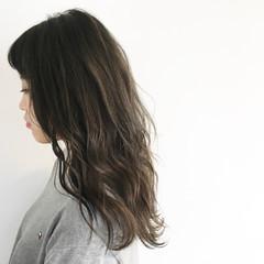 グラデーションカラー アッシュ ナチュラル 外国人風カラー ヘアスタイルや髪型の写真・画像