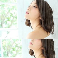 外国人風 ピュア 色気 ボブ ヘアスタイルや髪型の写真・画像