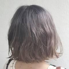 アッシュ 外国人風 ブリーチ ハイトーン ヘアスタイルや髪型の写真・画像