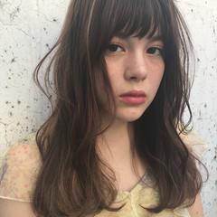 前髪あり デート フェミニン ヘアアレンジ ヘアスタイルや髪型の写真・画像