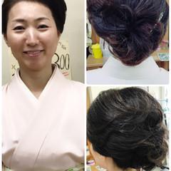 上品 大人女子 ミディアム 学校 ヘアスタイルや髪型の写真・画像