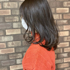 イルミナカラー ナチュラル 透明感 ブルーアッシュ ヘアスタイルや髪型の写真・画像