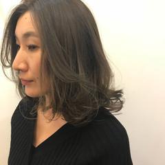 パーマ モード 冬 リラックス ヘアスタイルや髪型の写真・画像