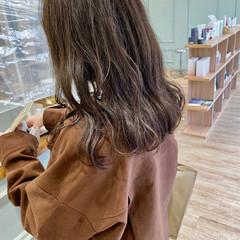 透け感ヘア モテ髪 韓国ヘア フェミニン ヘアスタイルや髪型の写真・画像