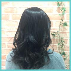 ブルージュ 暗髪 春 ナチュラル ヘアスタイルや髪型の写真・画像