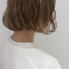 ナチュラル 透明感 ボブ 外国人風カラー ヘアスタイルや髪型の写真・画像
