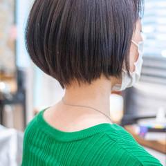 ショートヘア ショート くびれボブ ショートボブ ヘアスタイルや髪型の写真・画像
