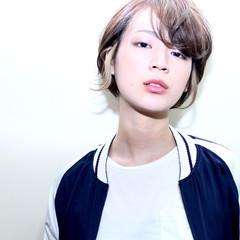 アッシュ ハイトーン ストリート 個性的 ヘアスタイルや髪型の写真・画像