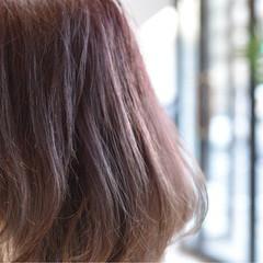 秋 グレージュ ボブ 透明感 ヘアスタイルや髪型の写真・画像