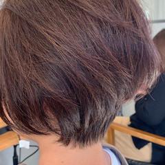 ベリーショート ショート エレガント ショートヘア ヘアスタイルや髪型の写真・画像