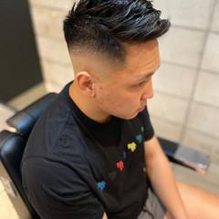 フェードカット スキンフェード ストリート ベリーショート ヘアスタイルや髪型の写真・画像