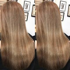 髪質改善トリートメント 極細ハイライト 3Dハイライト 大人ハイライト ヘアスタイルや髪型の写真・画像