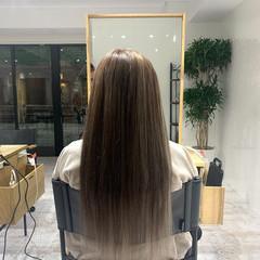 メッシュ エクステ ヴィーナスコレクション ミルクティーベージュ ヘアスタイルや髪型の写真・画像