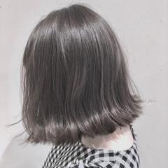 ボブ グラデーションカラー ゆるふわ 外国人風カラー ヘアスタイルや髪型の写真・画像
