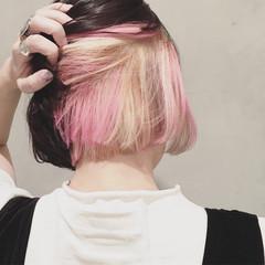 黒髪 ストリート 外国人風 ボブ ヘアスタイルや髪型の写真・画像