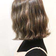波ウェーブ ナチュラル ボブ オルチャン ヘアスタイルや髪型の写真・画像