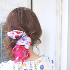 エレガント ロング 春 ヘアアレンジ ヘアスタイルや髪型の写真・画像