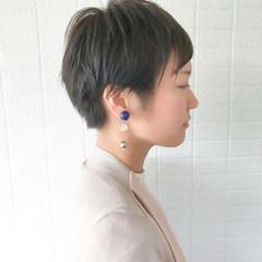 ショート ハンサム かっこいい 涼しげ ヘアスタイルや髪型の写真・画像
