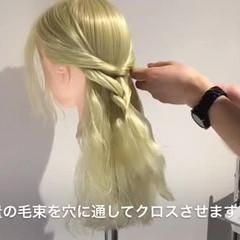 フェミニン ショート ヘアアレンジ 簡単ヘアアレンジ ヘアスタイルや髪型の写真・画像