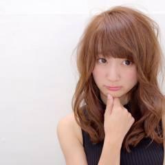 ヘアアレンジ モテ髪 ストリート ナチュラル ヘアスタイルや髪型の写真・画像