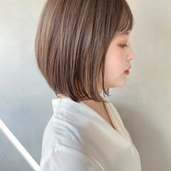 デート ワンカール ストレート アンニュイほつれヘア ヘアスタイルや髪型の写真・画像