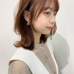 モテ髪 外ハネ アンニュイほつれヘア デジタルパーマ ヘアスタイルや髪型の写真・画像