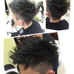 メンズ 刈り上げ ストリート ショート ヘアスタイルや髪型の写真・画像