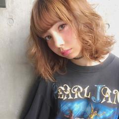ハイライト 大人かわいい ピュア ゆるふわ ヘアスタイルや髪型の写真・画像