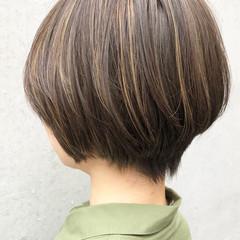 デート コントラストハイライト ナチュラル ハイライト ヘアスタイルや髪型の写真・画像