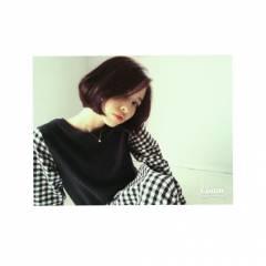 秋 モテ髪 ボブ ストレート ヘアスタイルや髪型の写真・画像