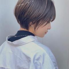 ミニボブ ショートボブ フェミニン ショートヘア ヘアスタイルや髪型の写真・画像