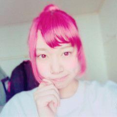 ピンク ブリーチ ガーリー ミディアム ヘアスタイルや髪型の写真・画像