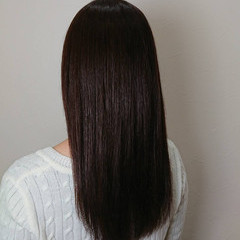 ラベンダー パープル エレガント 上品 ヘアスタイルや髪型の写真・画像