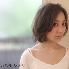 外国人風 大人かわいい モード 外ハネ ヘアスタイルや髪型の写真・画像