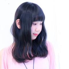 ミディアム グラデーションカラー ストリート ブリーチ ヘアスタイルや髪型の写真・画像