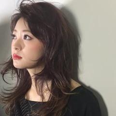 セミロング 外国人風 夏 渋谷系 ヘアスタイルや髪型の写真・画像