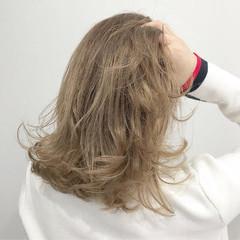 グラデーションカラー 外国人風カラー ストリート ミディアム ヘアスタイルや髪型の写真・画像