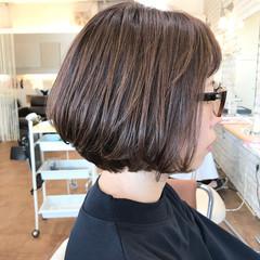 3Dハイライト スモーキーカラー 透明感カラー ハイライト ヘアスタイルや髪型の写真・画像