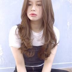 モテ髪 コンサバ フェミニン ゆるふわ ヘアスタイルや髪型の写真・画像