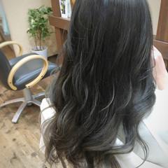 上品 外国人風 ブルージュ アッシュ ヘアスタイルや髪型の写真・画像